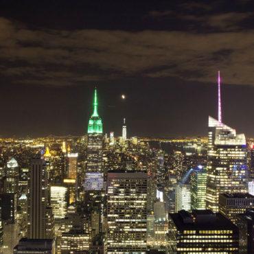 США: Нью-Йорк в апреле