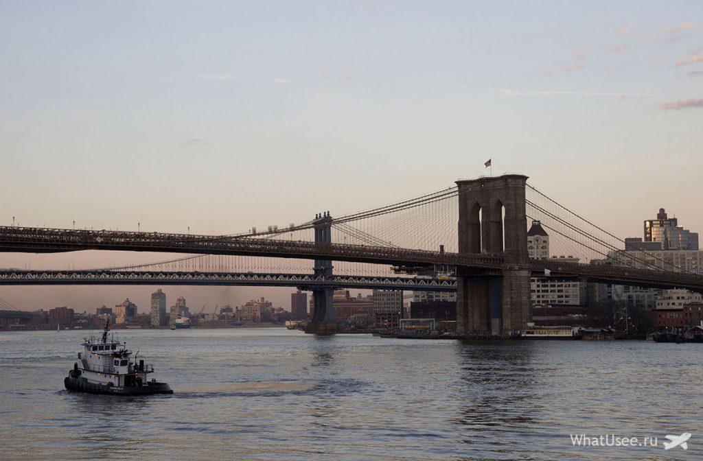 Вечерний круиз в Нью-Йорке