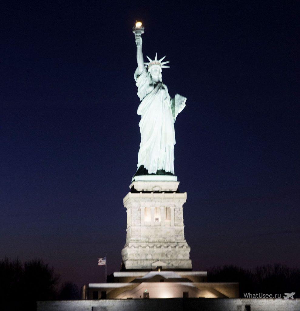 Круиз к статуе Свободы в Нью-Йорке