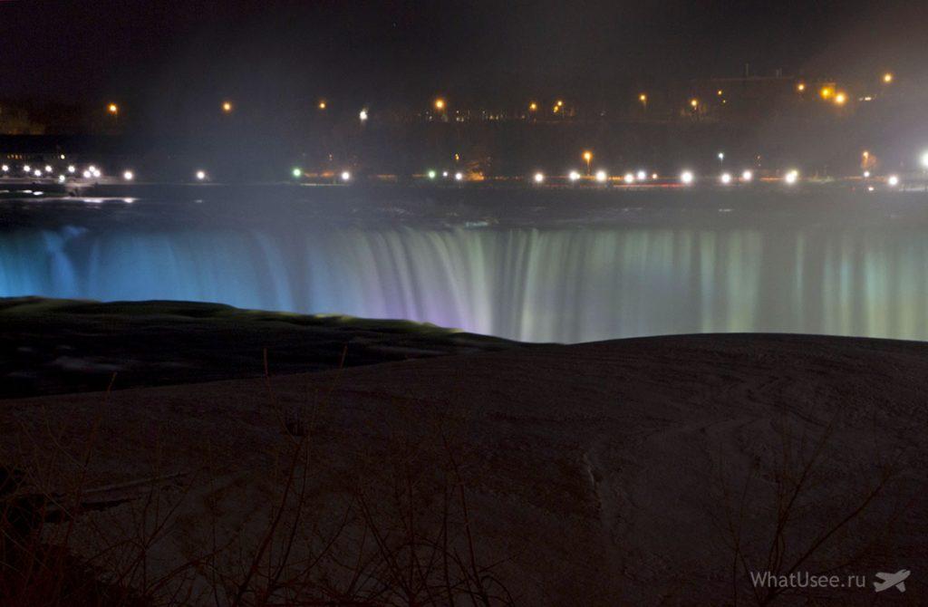 Ниагарский водопад со стороны Америки фото