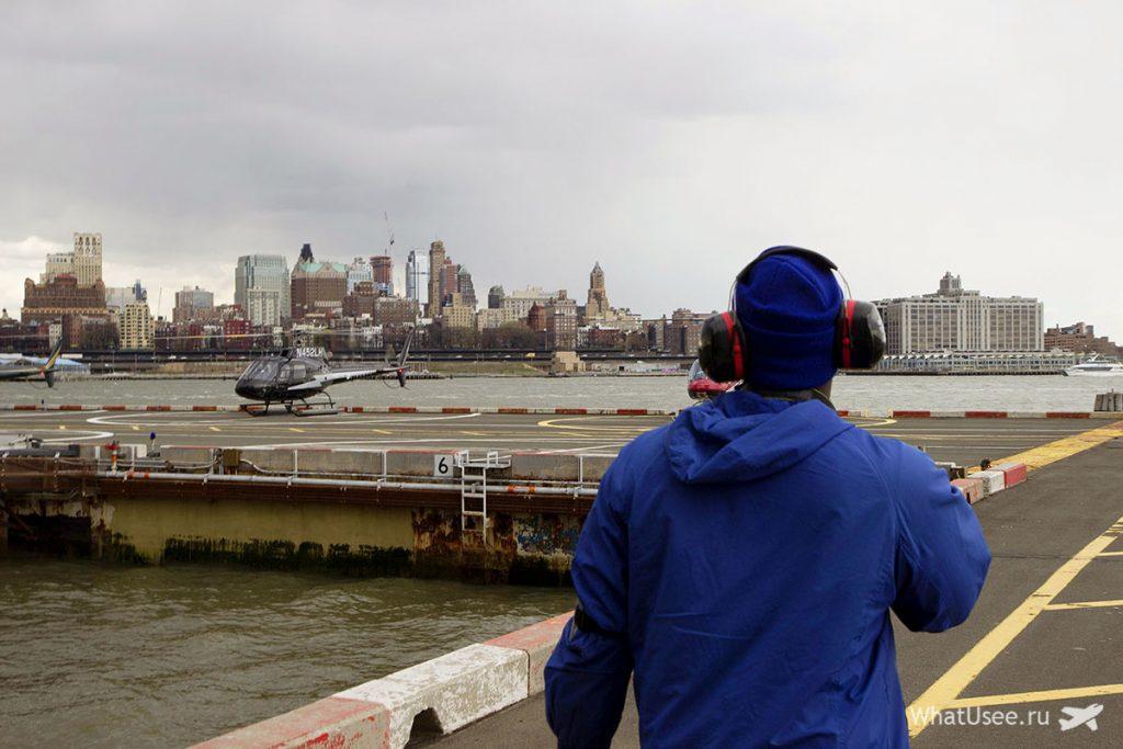 Вертолётная экскурсия в Нью-Йорке