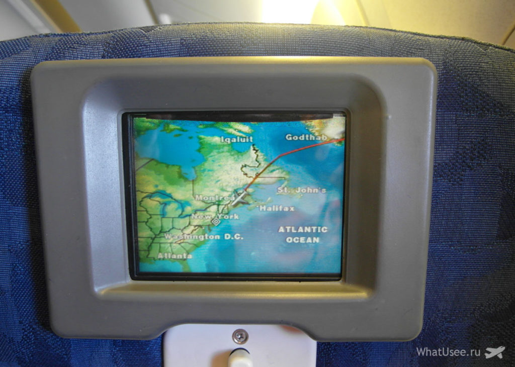 Рейс Москва - Нью-Йорк