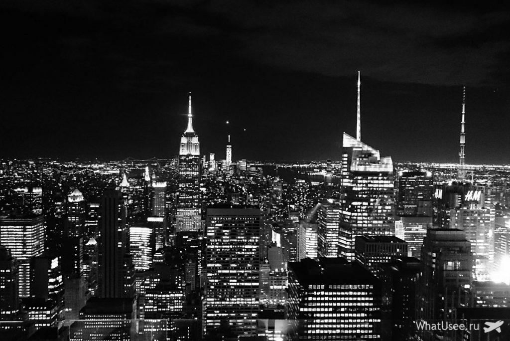 Смотровая площадка Рокфеллер Центр в Нью-Йорке