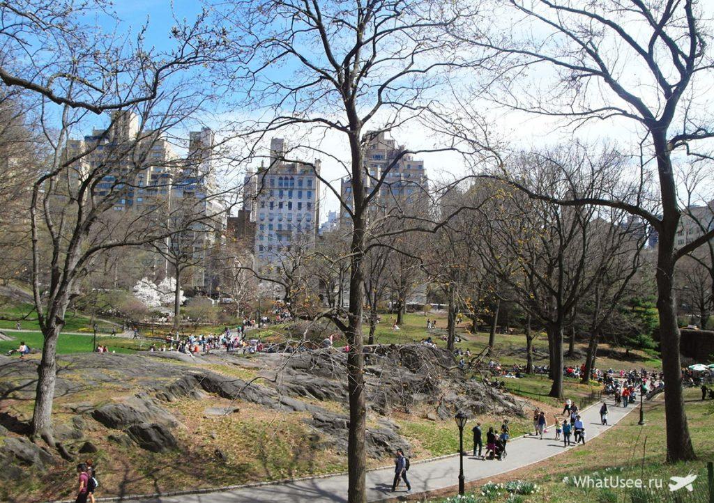 Сентрал Парк в Нью-Йорке