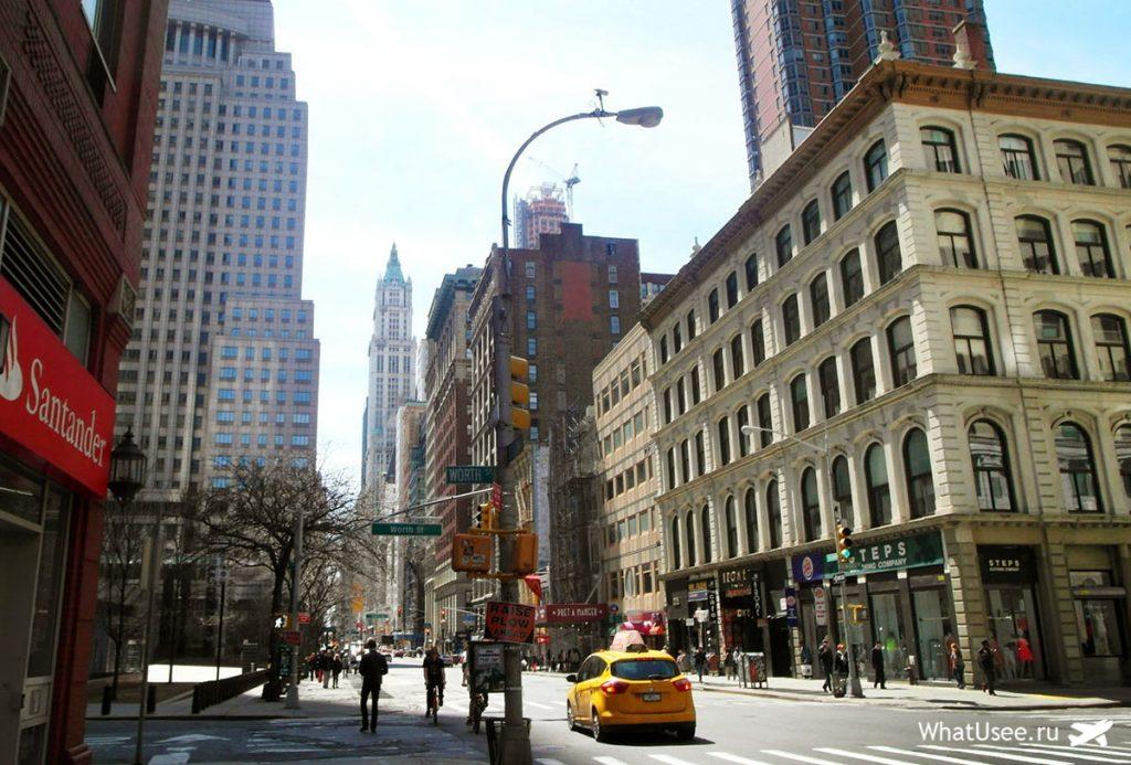Деловой квартал Нью-Йорк