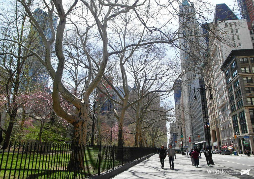 Самостоятельная прогулка по Нью-Йорку