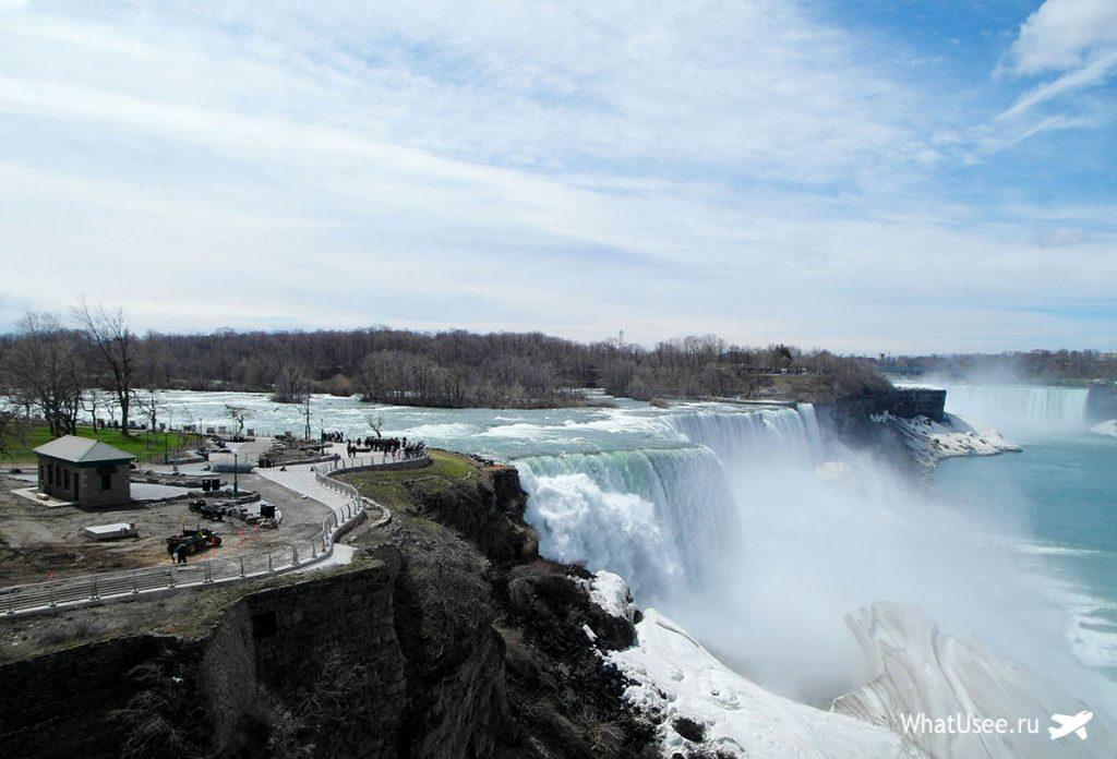 Поездка на Ниагарские водопады В США из Нью-Йорка