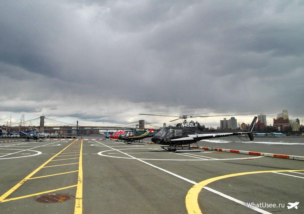 Вертолёт в Нью-Йорке