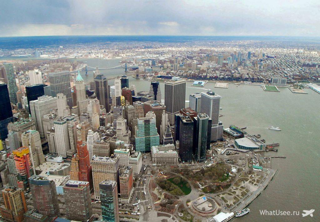 Полёт на вертолёте над Нью-Йоркомм