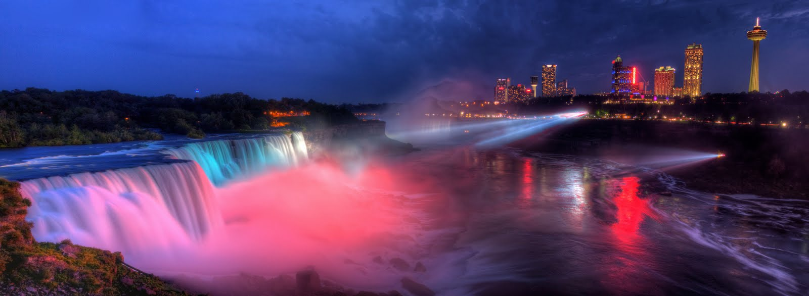 Когда и что смотреть на Ниагарских водопадах в Америке