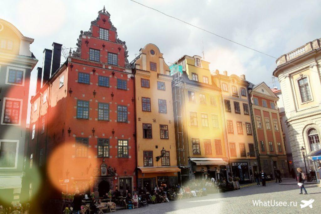 Стокгольм весной