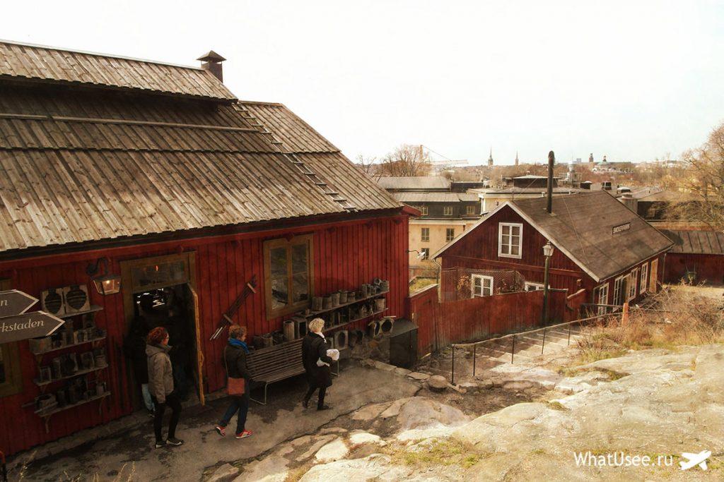 Стокгольм самостоятельно в апреле