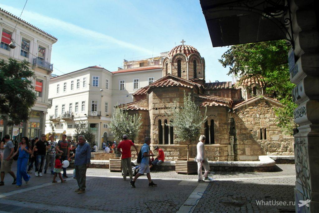 Осень в Афинах