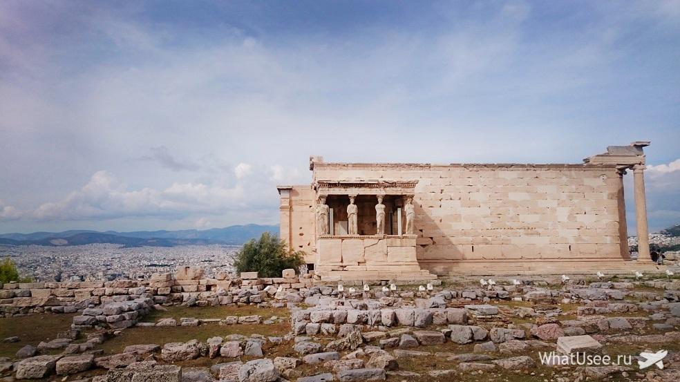 Афины в октябре самостоятельно