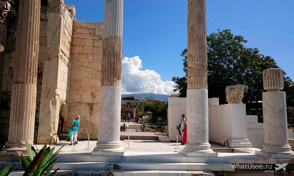 Руины Библиотеки Адриана