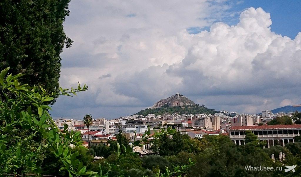 Фотографии холма Ликавитос в Афинах
