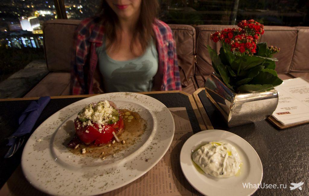 Ресторан в Афинах