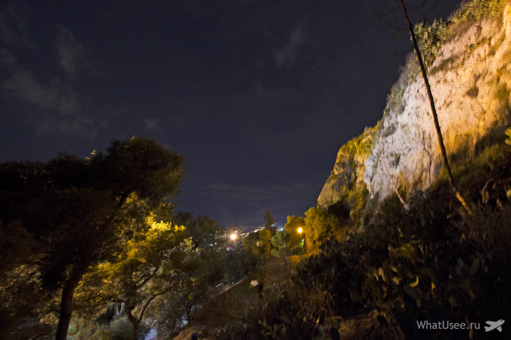 Холм Ликавитос в Афинах