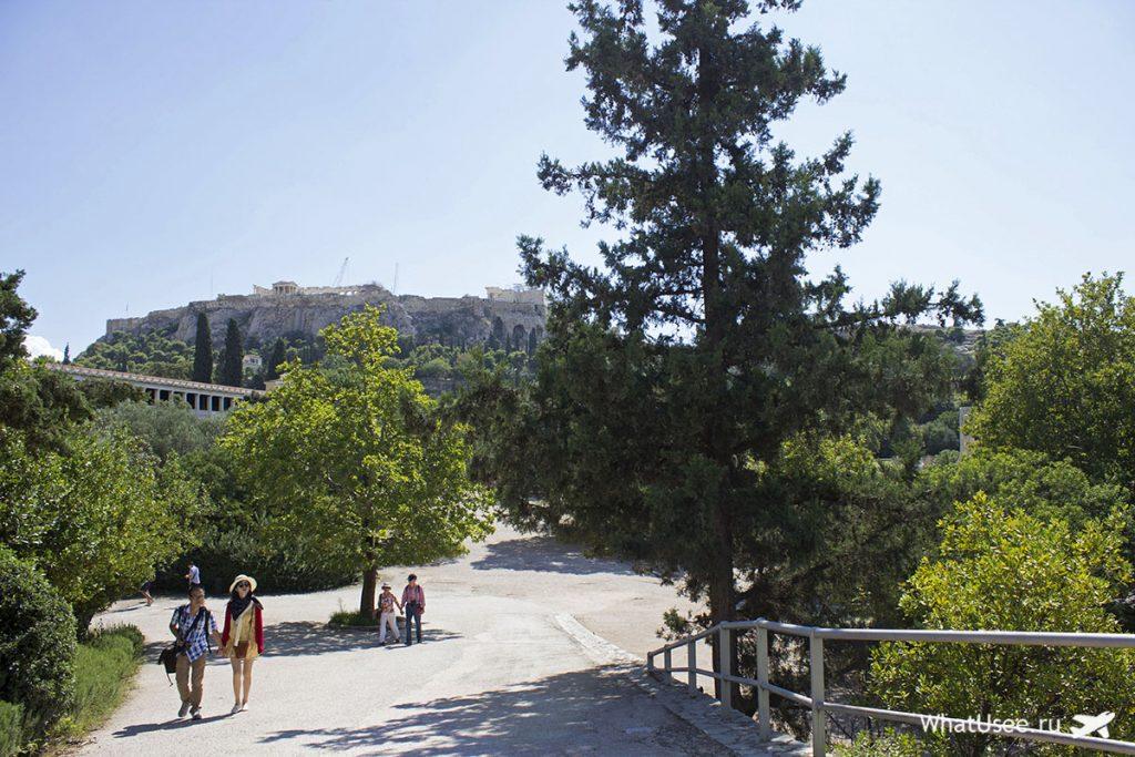 Фотографии Афинской Агоры