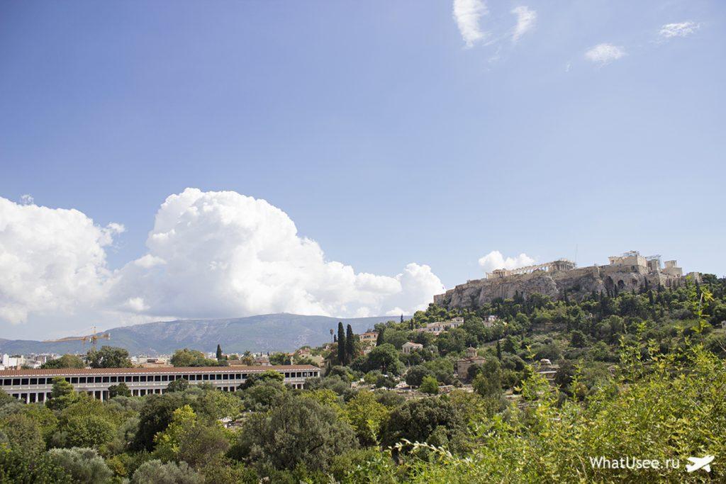 Храм Гефеста и афинская агора