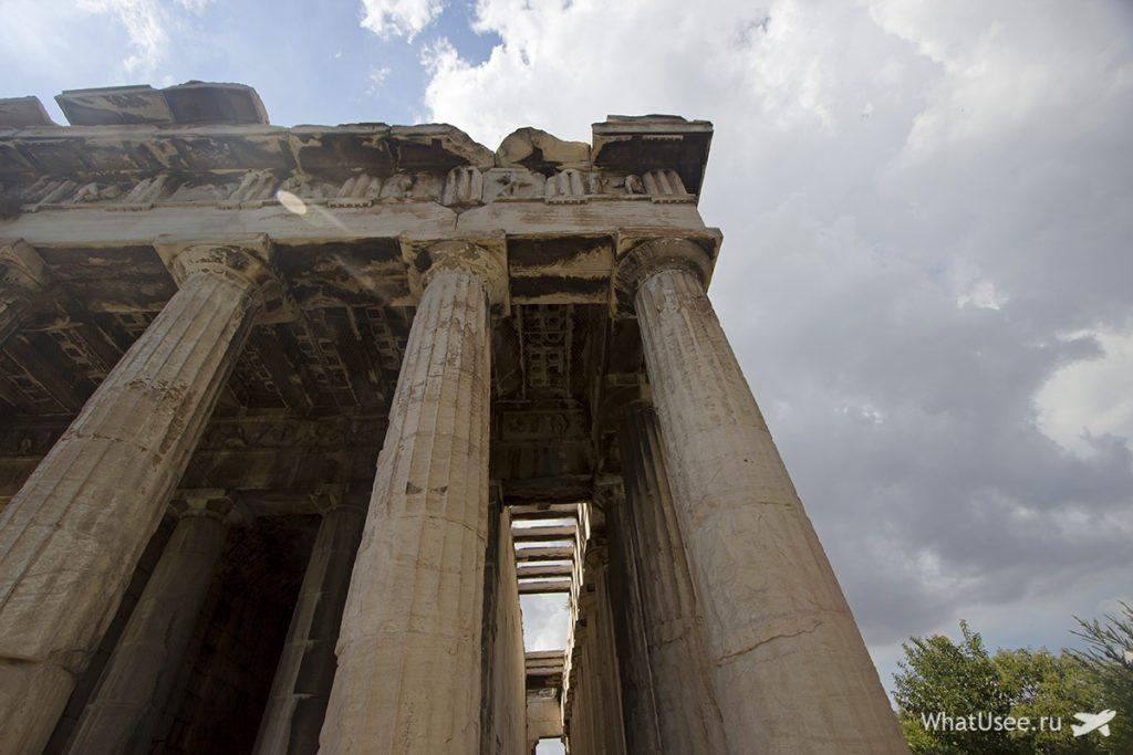 Фотографии храм Гефеста в Афинах