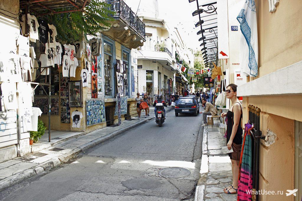 Сувениры в Афинах