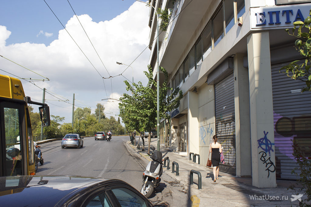 Самостоятельно в Афинах на три дня