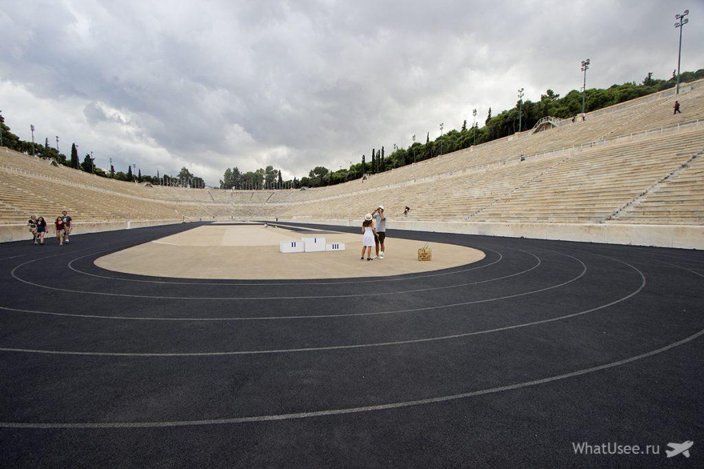 Стадион Панатинаикос в Афинах и фотографии