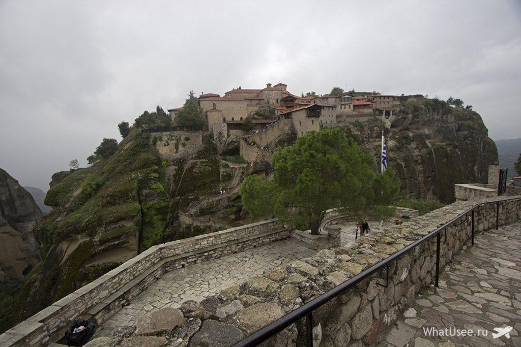 Монастыри Метеоры в октябре