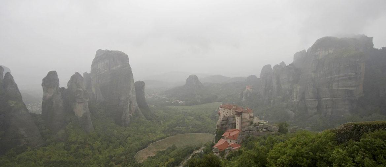 Самостоятельная поездка в Метеоры в Греции