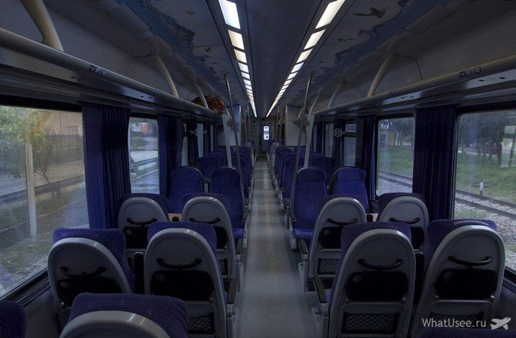 В поезде Афины - Каламбака