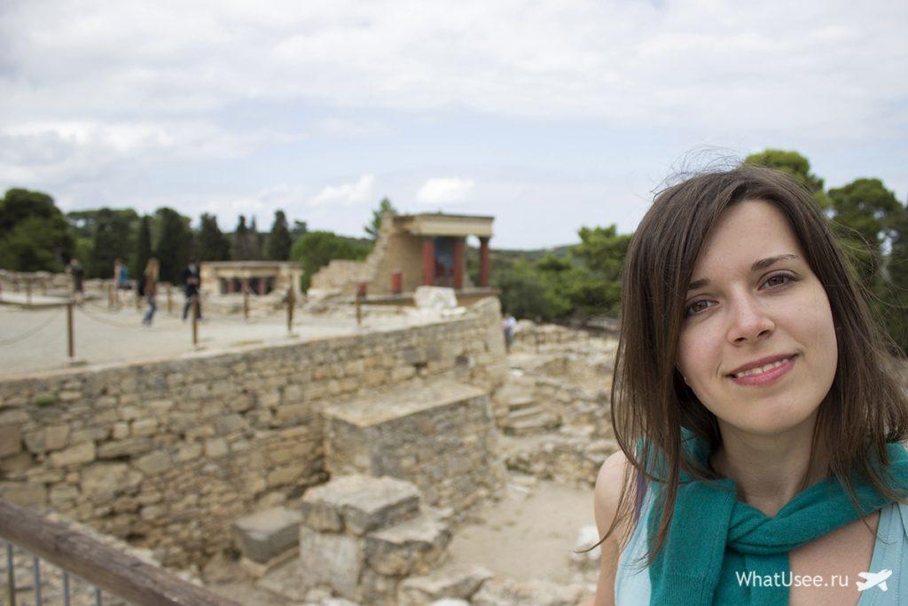 Самостоятельное посещение Кносского дворца на Крите