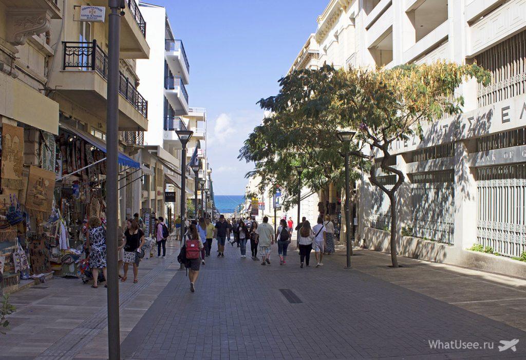 Самостоятельная прогулка по центру Ираклиона