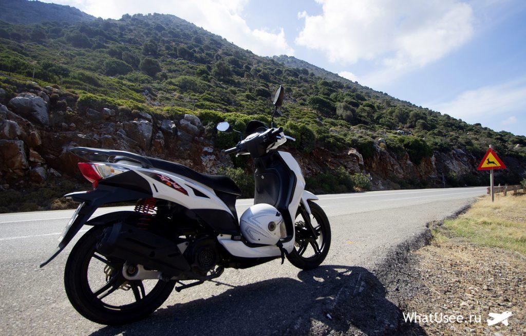 На скутере по Криту в октябре