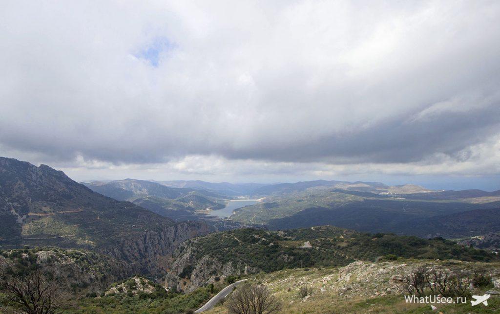 На машине по Криту в октябре