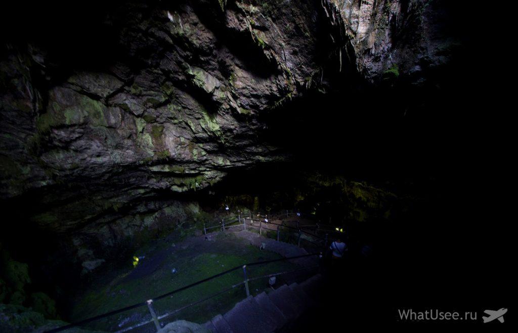 Пещера Зевса на Крите в октябре