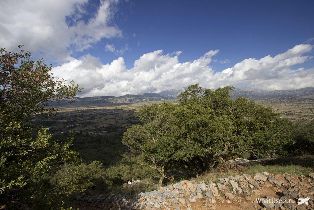 Плато Лассити на Крите и пещера Зевса