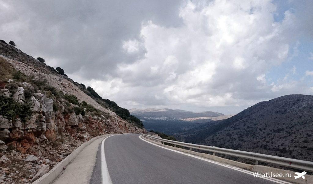Маршрут по Криту к пещере Зевса