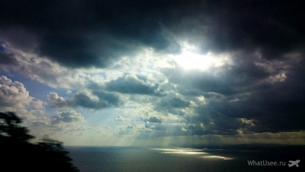 Море на Крите октябрь