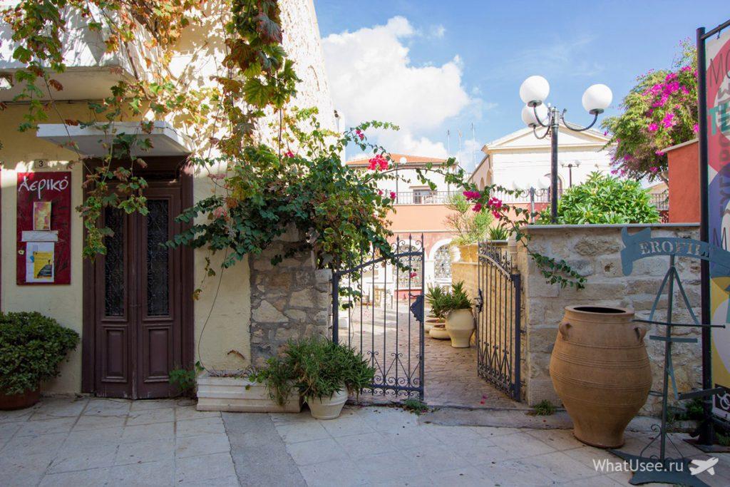 Самостоятельное посещение Ретимно на Крите