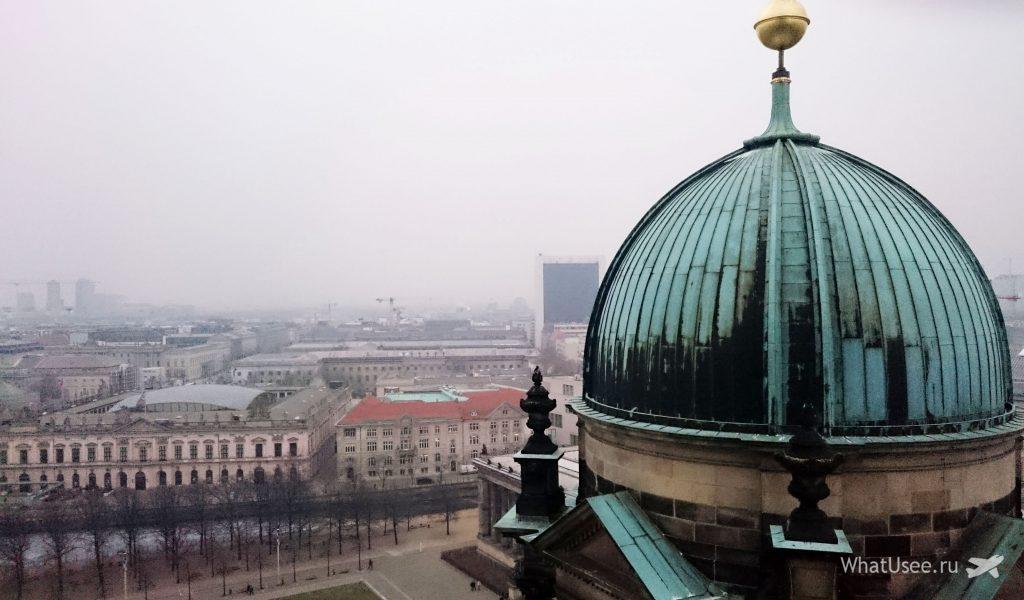 Вид на Берлин с собора