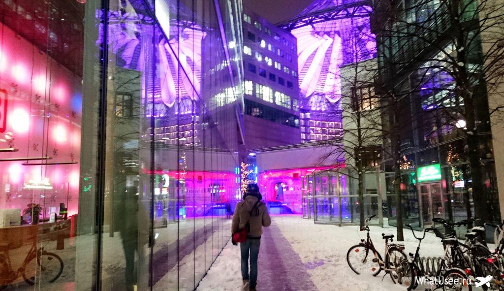 Sony Center в Берлине
