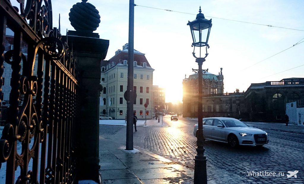 Вечер в Дрездене