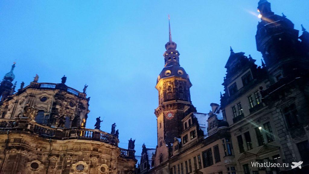 Поедка из Берлина в Дрезден