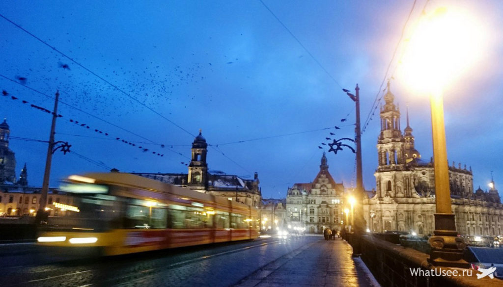Поездка в Дрезден на автобусе
