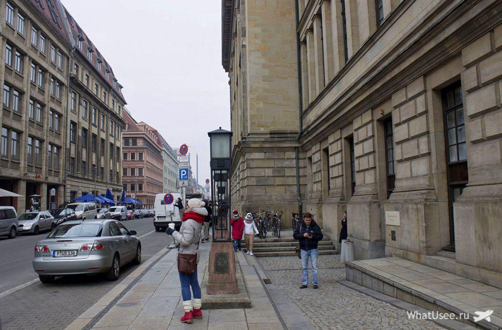 Прогулка по Берлину зимой