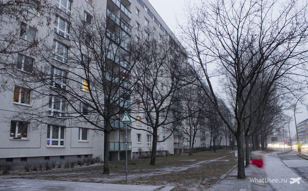 Восточная часть Берлина