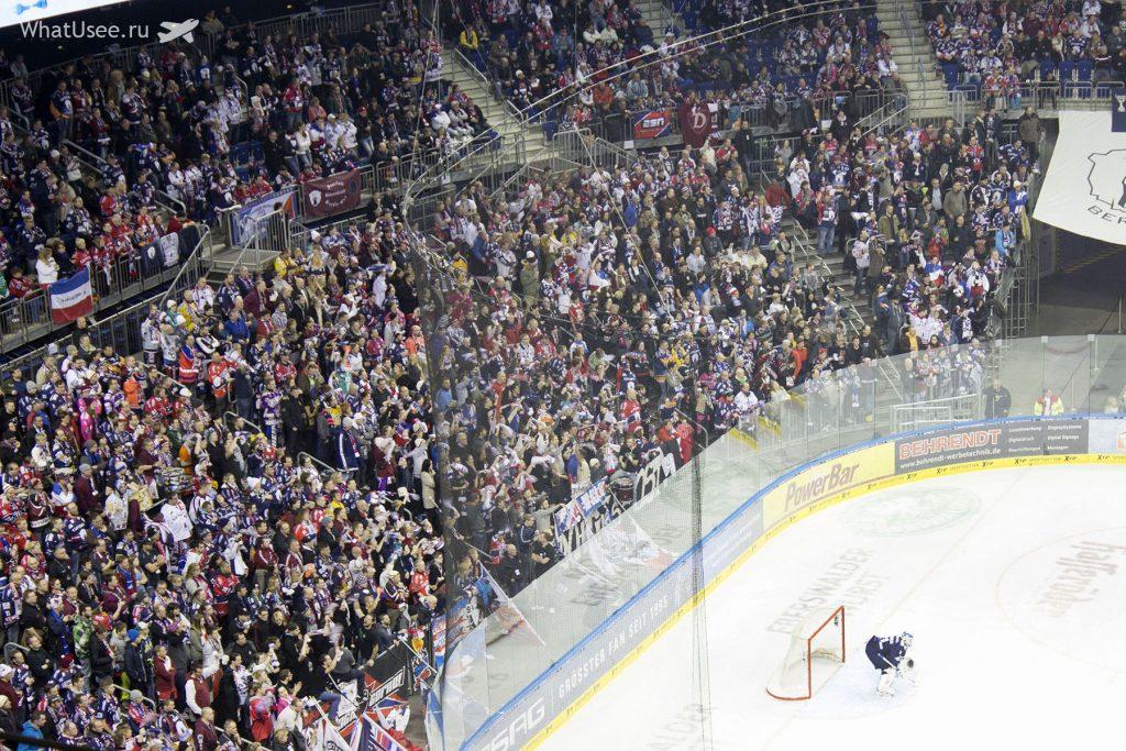 Хоккей в Берлине в Mersedes Benz Arena