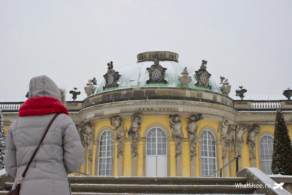 Дворец Сан-Суси в Потсдаме