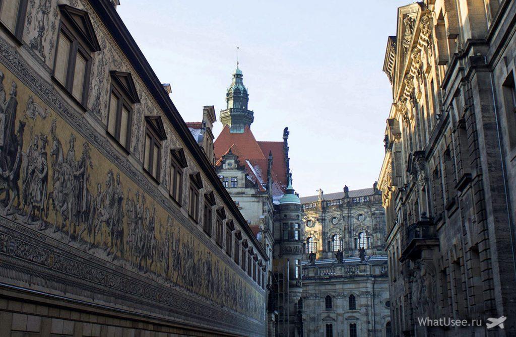 Старый город в Дрездене